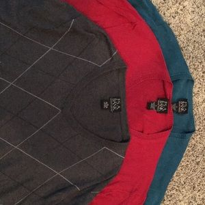 Bundled Item - 3 V Neck Sweaters from Jos.A. Banks
